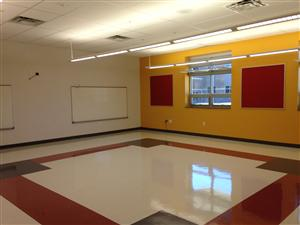 A Nearly Completed Classroom in our New Building!