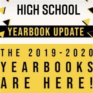 Yearbooks are in